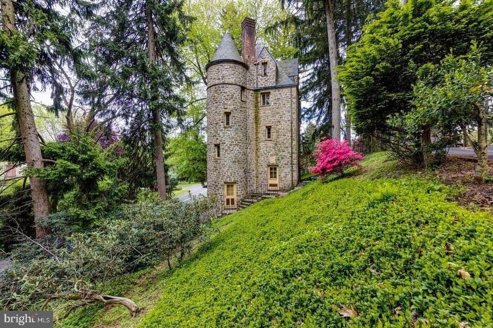 1931 The Castle House For Sale In Jenkintown Pennsylvania
