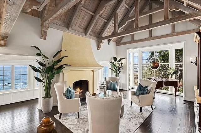 1929 Waterfront Tudor Revival For Sale In Laguna Beach California