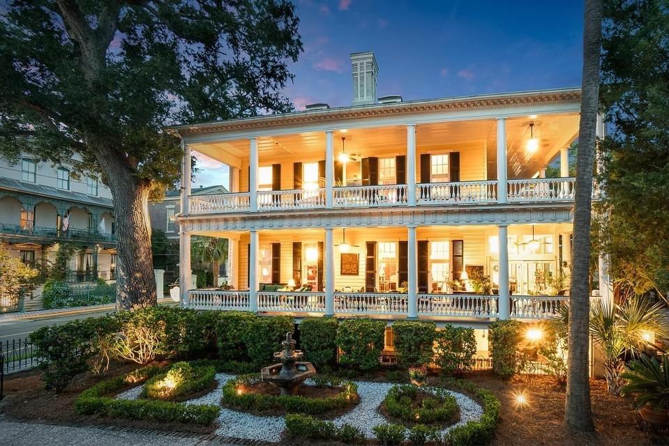 1760 Georgian Revival For Sale In Charleston South Carolina — Captivating Houses